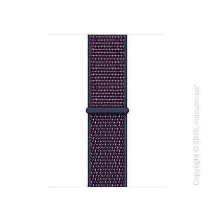 Спортивный браслет цвета «тёмный индиго» (для корпуса 40 мм)