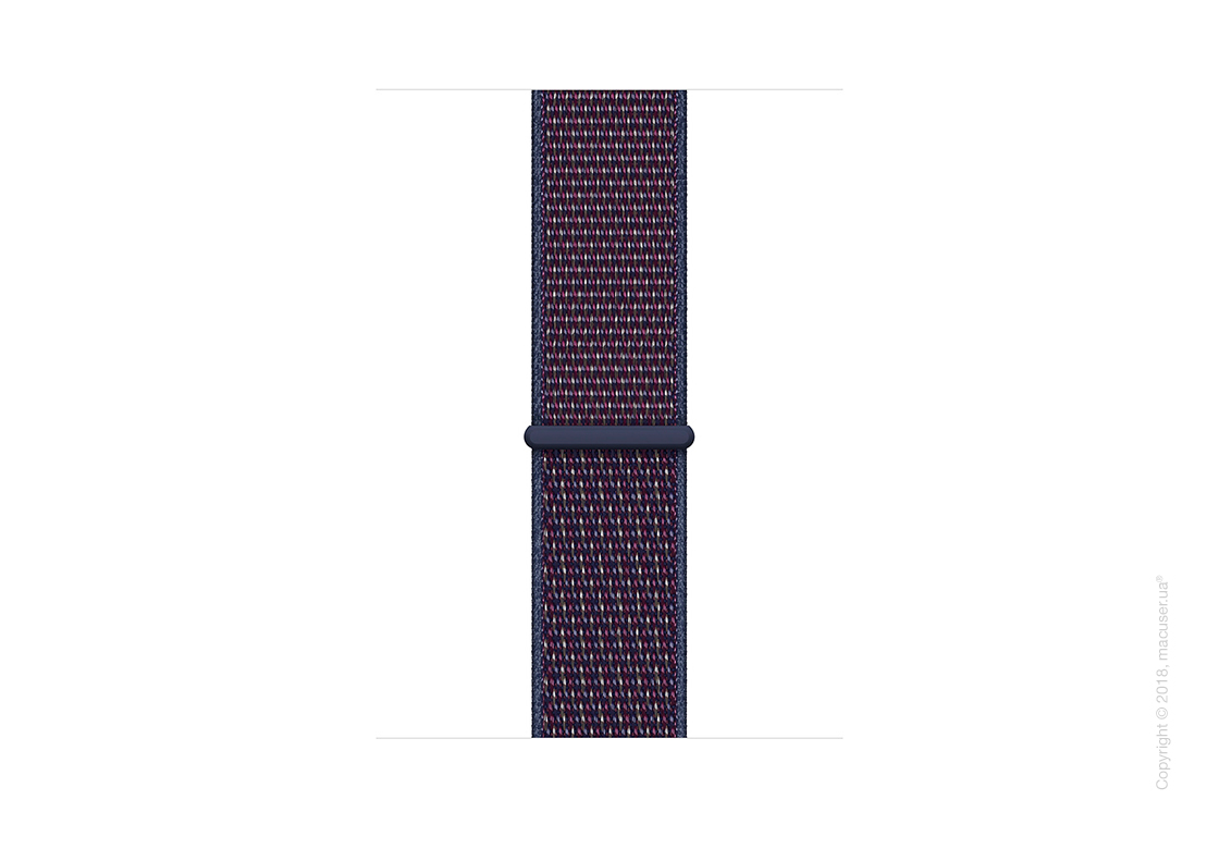 Спортивный браслет цвета «тёмный индиго» (для корпуса 44 мм)