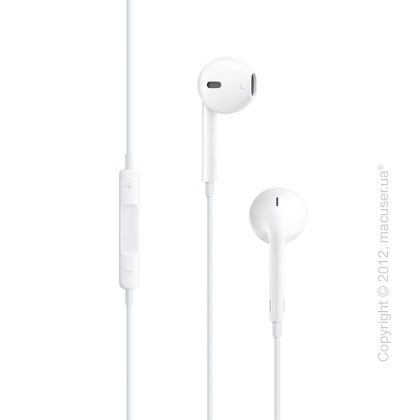 Гарнитура Apple EarPods с разъёмом 3,5 мм