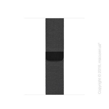 Миланский сетчатый браслет цвета «чёрный космос» (для корпуса 40 мм)