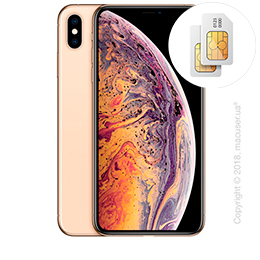 Apple iPhone Xs Max 2-SIM 512GB, Gold