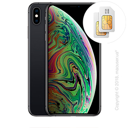 Apple iPhone Xs Max 2-SIM 64GB, Space Gray