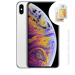 Apple iPhone Xs Max 2-SIM 64GB, Silver
