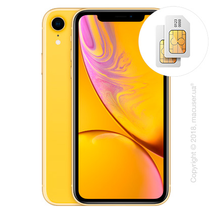 Apple iPhone Xr 2-SIM 64GB, Yellow
