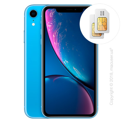 Apple iPhone Xr 2-SIM 64GB, Blue