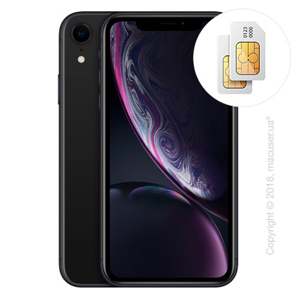 Apple iPhone Xr 2-SIM 256GB, Black
