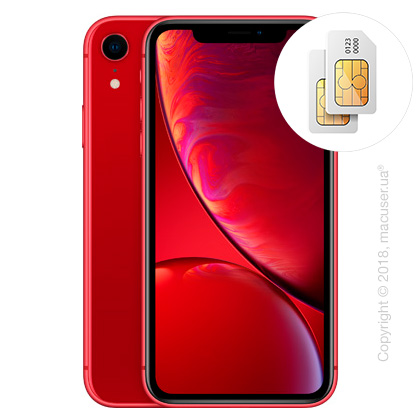 Apple iPhone Xr 2-SIM 128GB, (PRODUCT)RED