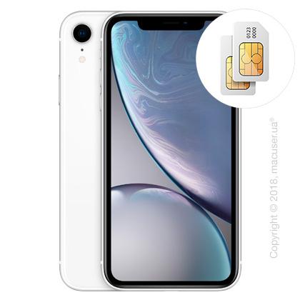Apple iPhone Xr 2-SIM 128GB, White
