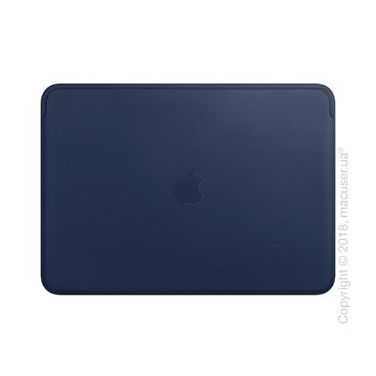 Кожаный чехол для MacBook Air Retina, Midnight Blue New
