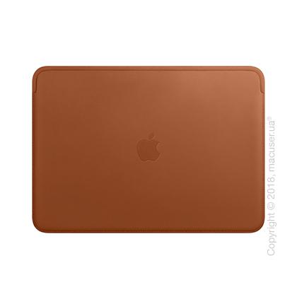 Кожаный чехол для MacBook Air Retina, Saddle Brown New