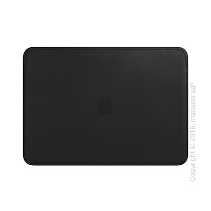 Кожаный чехол для MacBook Air Retina, Black