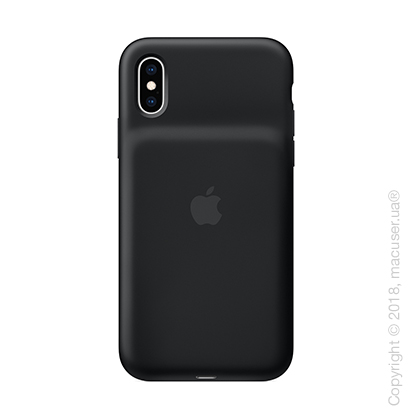 Чехол Smart Battery Case для iPhone Xs, чёрный цвет
