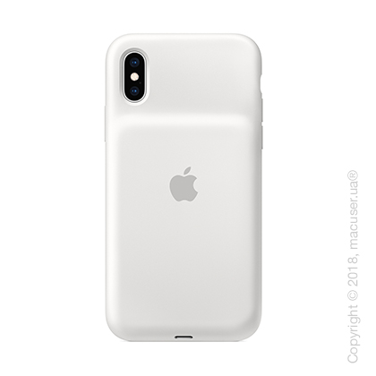 Чехол Smart Battery Case для iPhone Xs, белый цвет