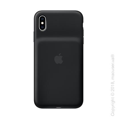 Чехол Smart Battery Case для iPhone Xs Max, черный цвет