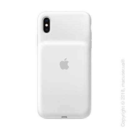 Чехол Smart Battery Case для iPhone Xs Max, белый цвет