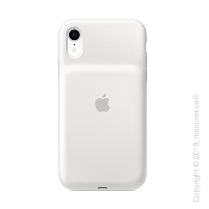 Чехол Smart Battery Case для iPhone Xr, белый цвет