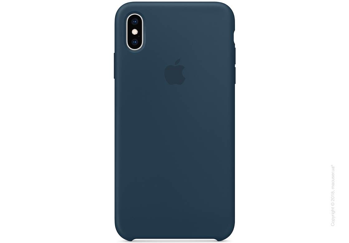 iPhone Xs Max - Silicone Case - Pacific Green