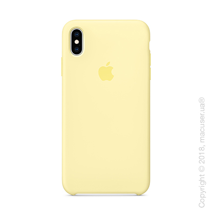 iPhone Xs Max - Silicone Case - Mellow Yellow