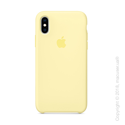 iPhone Xs - Silicone Case - Mellow Yellow