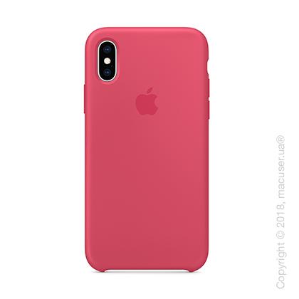 iPhone XS Silicone Case - Hibiscus