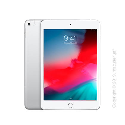 Apple iPad Mini 5 Wi-Fi+Cellular 64GB, Silver