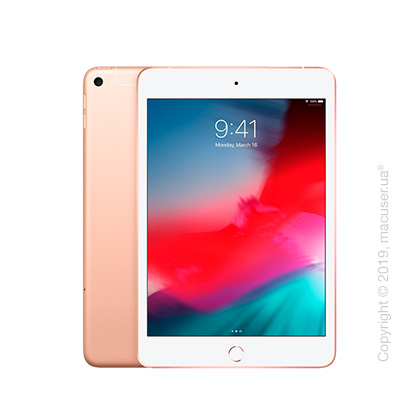 Apple iPad Mini 5 Wi-Fi+Cellular 64GB, Gold