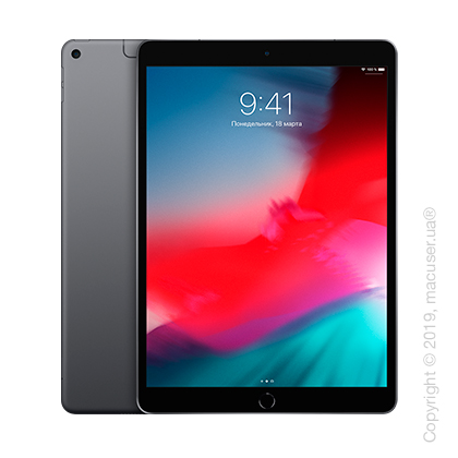 Apple iPad Air 10.5 Wi-Fi+Cellular 256GB, Space Gray