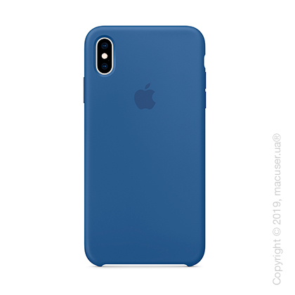 iPhone Xs Silicone Case - Delft Blue