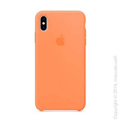 iPhone Xs Silicone Case - Papaya
