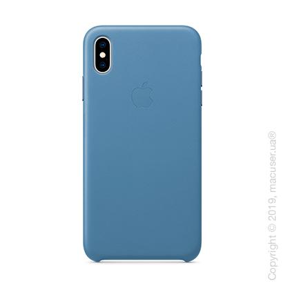 iPhone Xs Leather Case - Cornflower