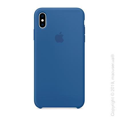 iPhone Xs Max Silicone Case - Delft Blue