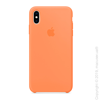 iPhone Xs Max Silicone Case - Papaya