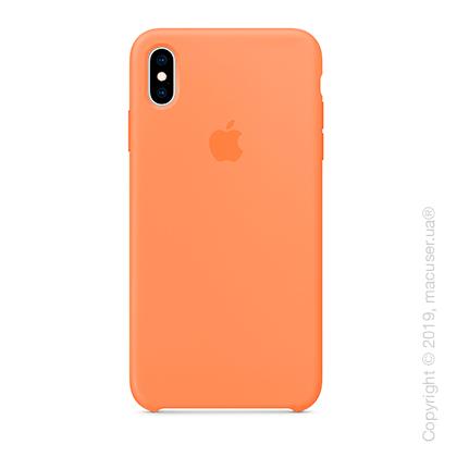 iPhone Xs Max Silicone Case - Papaya