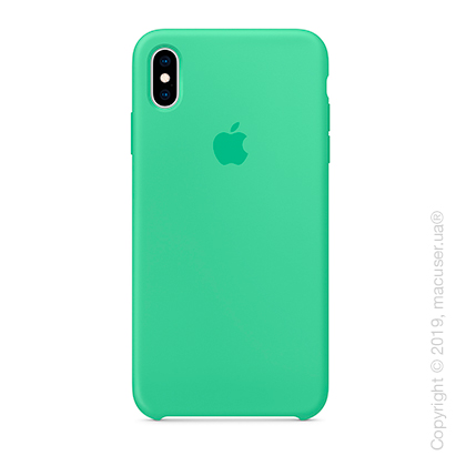 iPhone Xs Max Silicone Case - Spearmint