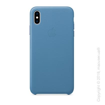 iPhone Xs Max Leather Case - Cornflower