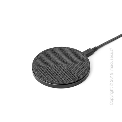 Беспроводное зарядное устройство Native Union Drop Wireless Charger Fabric Slate