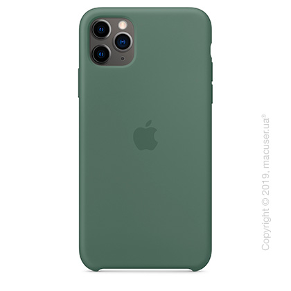 iPhone 11 Pro Max Silicone Case - Pine Green