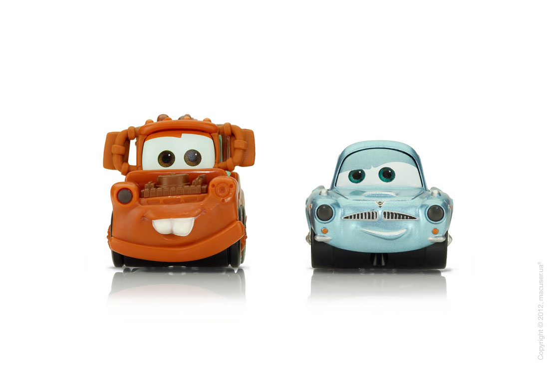 Disney Cars 2 AppMATes by Spinmaster - Mater/Finn McMissile