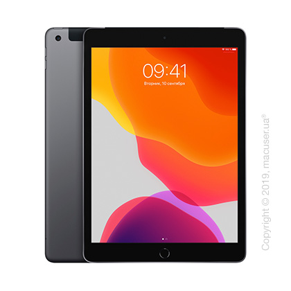 Apple iPad 10.2 Wi-Fi + Cellular 32GB, Space Gray