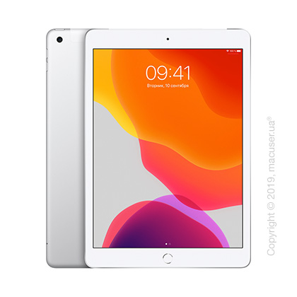 Apple iPad 10.2 Wi-Fi + Cellular 32GB, Silver