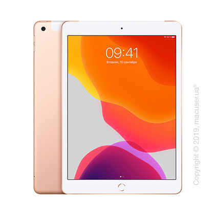 Apple iPad 10.2 Wi-Fi + Cellular 128GB, Gold