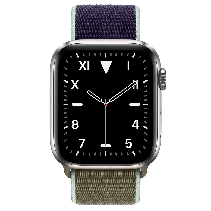 Apple Watch Edition GPS + Cellular, 44mm Titanium Case with Khaki Sport Loop