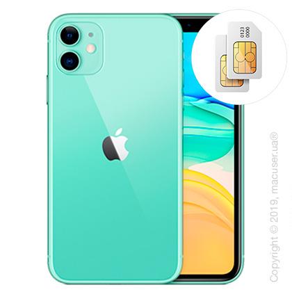 Apple iPhone 11 2-SIM 128GB, Green New