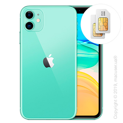 Apple iPhone 11 2-SIM 128GB, Green