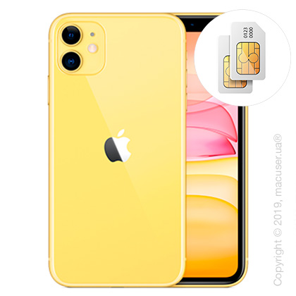 Apple iPhone 11 2-SIM 256GB, Yellow