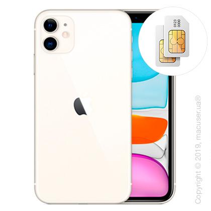 Apple iPhone 11 2-SIM 256GB, White New