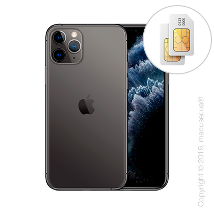 Apple iPhone 11 Pro 2-SIM 64GB, Space Gray