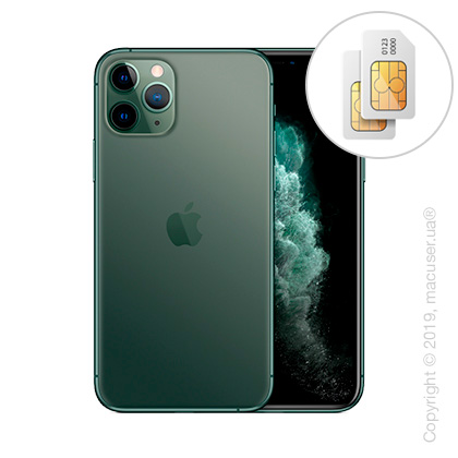 Apple iPhone 11 Pro 2-SIM 64GB, Midnight Green