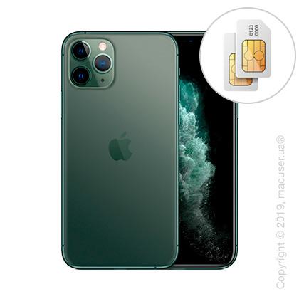 Apple iPhone 11 Pro 2-SIM 256GB, Midnight Green