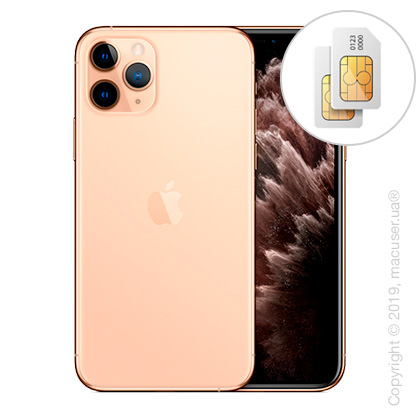 Apple iPhone 11 Pro Max 2-SIM 64GB, Gold